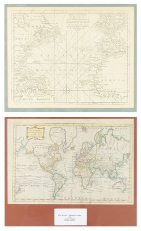 Two 18th Century Engraved Maps