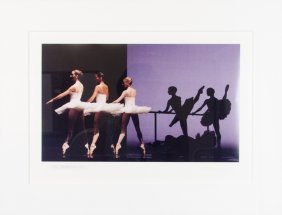 Etudes, Houston Ballet, 1993 Print By Geoff Winningman