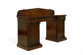 A Mahogany Pedestal Sideboard