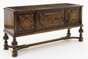 A Jacobean Style Sideboard
