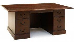 A Mahogany Partner's Desk