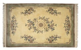 A Modern Chinese Style Rug