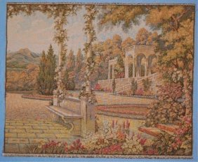 Imported Italian Tapestry Of Classical Scene
