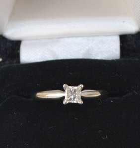 Ring, Solitaire14 Kt Gold (20)