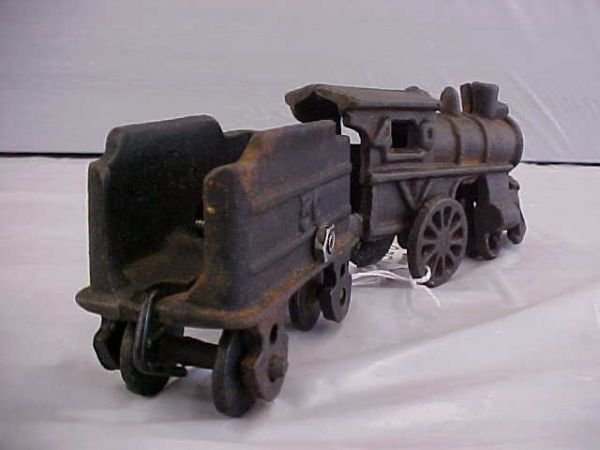 Nycrr Cast Iron Train: 2380: Vintage Cast Iron Train Set : Lot 2380