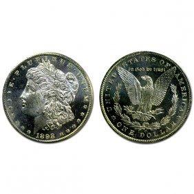 1898 O Morgan Dollar - Ms63+ - Proof Like