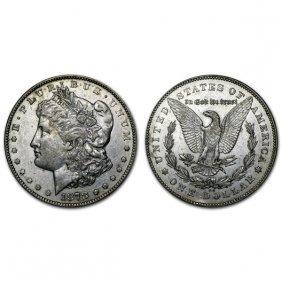 1878 Cc Morgan Silver Dollar - Au