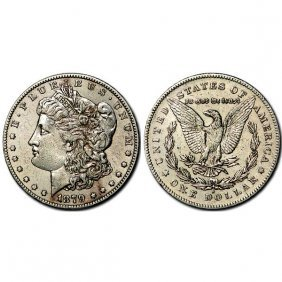 1879 S Morgan Silver Dollar Rev Of 78 - Au