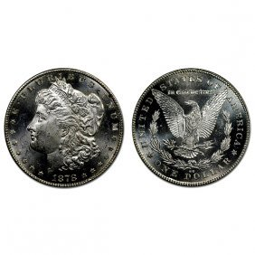 1878 Cc Morgan Dollar - Ms63+ - Proof Like