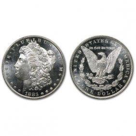 1883 Cc Morgan Dollar - Ms63+ - Proof Like