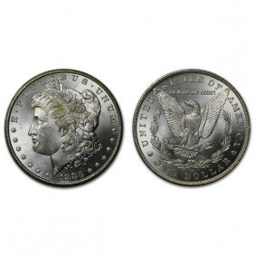 1883 Cc Morgan Silver Dollar - Brilliant Uncirculated