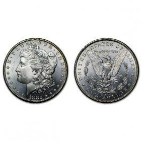 1882 Cc Morgan Silver Dollar - Bu
