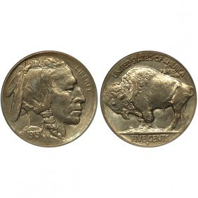 1915 S Buffalo Nickel - Choice Bu