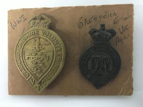 Military Pins, Wwi And Grenadier Guards