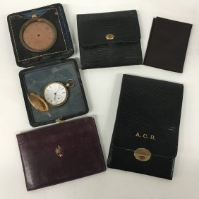 Vintage Wallets And Watches, Tiffany & Co 8 Day Clock,