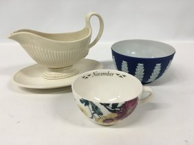China Lot: Wedgwood, Spode 'november' And Jasperware
