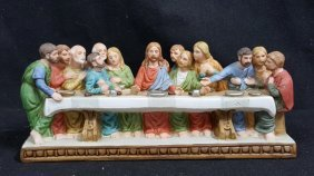 "Lefton ""last Supper"" The Bethlehem Collection"