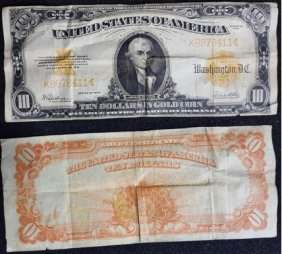 Series 1922 Ten Dollar ($10.00) United States