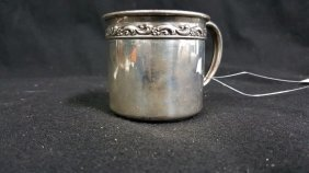 Reed And Barton Vintage Sterling Silver Baby Cup