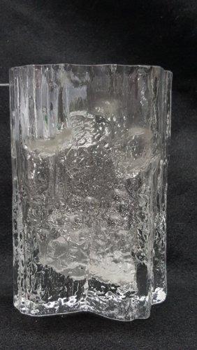 A Tapio Wirkkala Glass Vase
