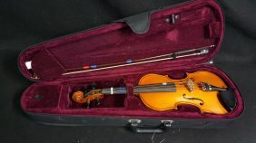 Florea Violin & Glasser Bow With Case