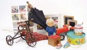 Treasure Chest, Decoration Parts For Bears, Roundabout,