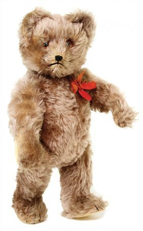 Schuco Yes/no Tricky-bear, 42 Cm, With Chest Label,