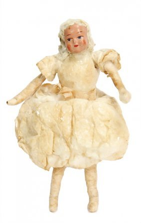 Christmas Tree Decoration, Cotton Wool, Russia, Dancer,