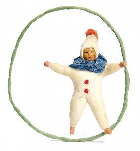 Christmas Tree Decoration, Cotton Wool, Mass Face,