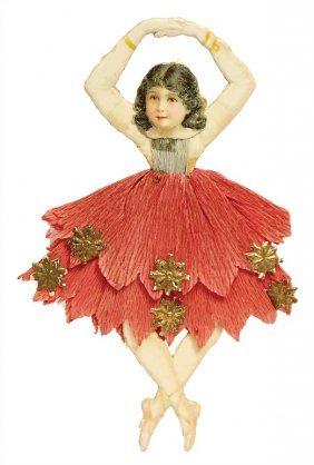 Christmas Tree Decoration, Stampedcardboard, Dancer,