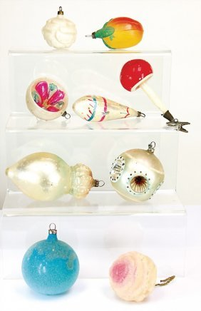 Christmas Tree Decoration, Baubles, Ball With Crown,