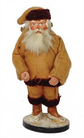 Santa Claus, Mass, Clothes Made Of Fabric, 16 Cm