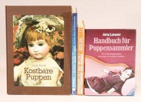 """4 X Fachliteratur, """"antique Puppen"""" Von"""