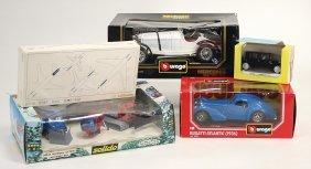 Burago Bugatti Atlantic, Neuwertig, Orig.-kart.,