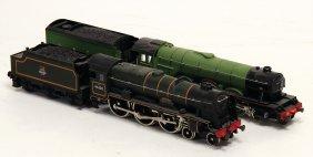 2 X Tenderlok, Spur H0, 1 X British Railways Nr. 46100,