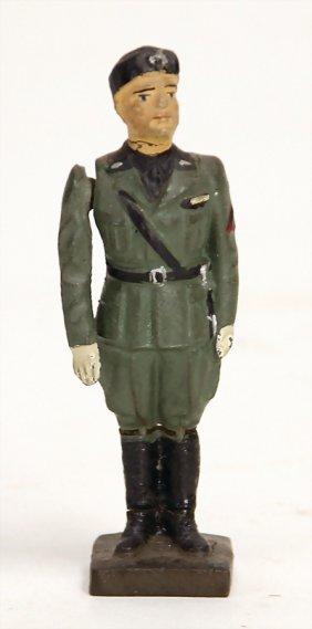 Lineol Duce, Masse, 2. Weltkrieg, Mit Bewegl. Arm,