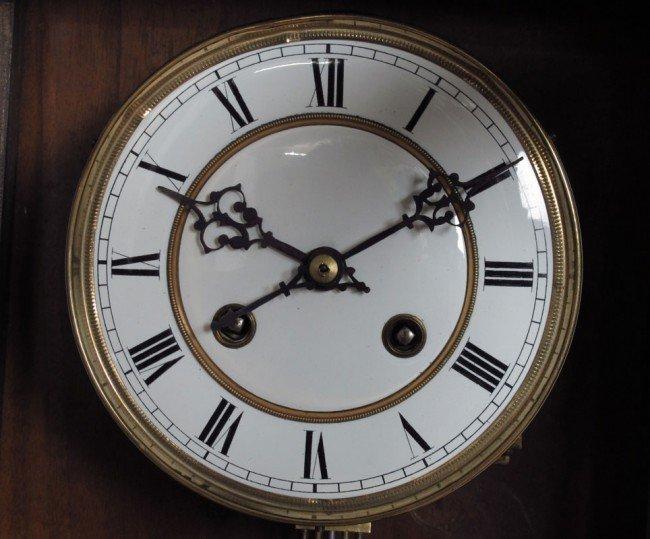 198 Junghans Regulator Wall Clock Lot 198