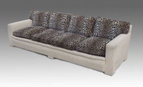 CUSTOM D'ANGELIS CONTEMPORARY SOFA