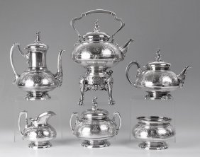 IMPORTANT TIFFANY & CO. STERLING TEA SERVICE