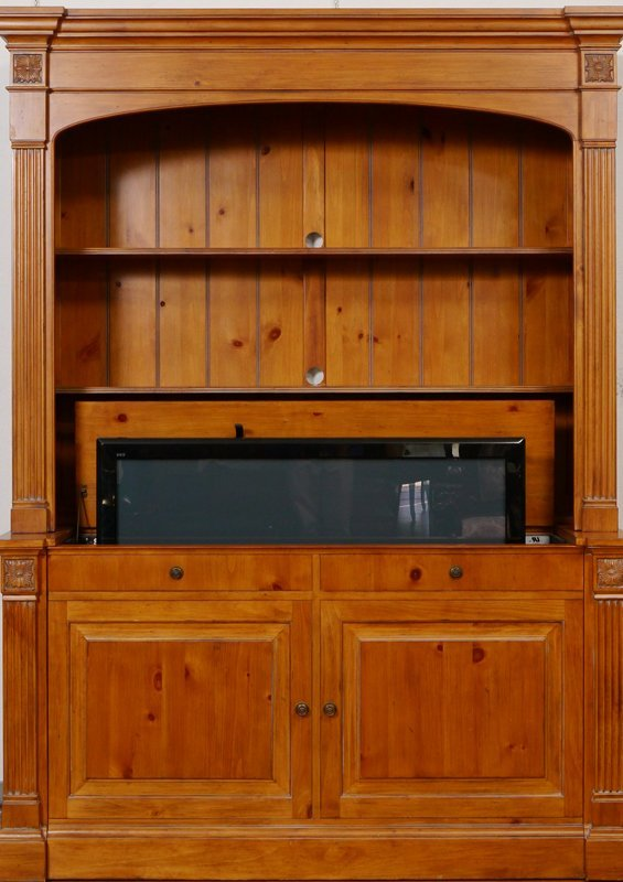 Ethan Allen Television Lift Cabinet Lot 1223