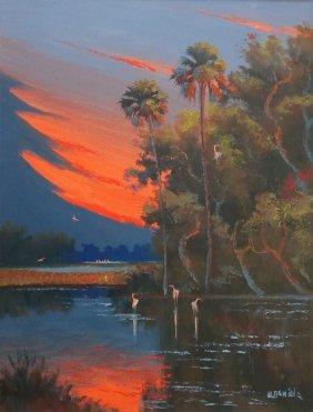 Willie Daniels Florida Highwaymen Painting