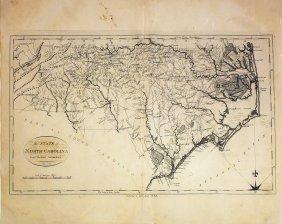 Reid & Winterbotham Map Of North Carolina