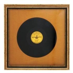 An Original 1954 Elvis Presley Sun Records That's Al