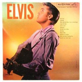 "A 1956 LP Album Elvis"" MONO RCA Victor LPM-1382,"""