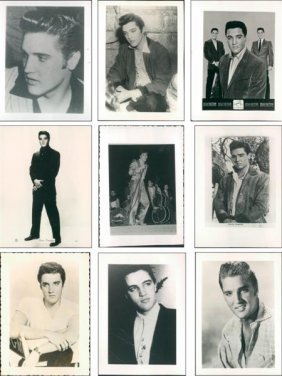 A Collection Of Original And Publicity Photos Of El