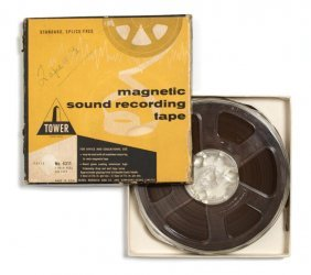 An Original 5-inch Reel-to-Reel Sound Recording Of