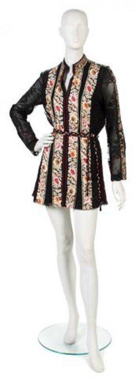 A Thea Porter Couture Black Lace Jacket,