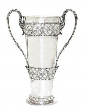 An English Silver Vase, Horace Woodward & Co. (Edg