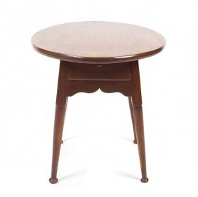 An American Various Woods Occasional Table, Height