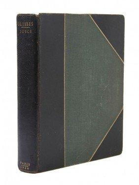 JOYCE, JAMES. Ulysses. Paris, 1926. Eighth Printing